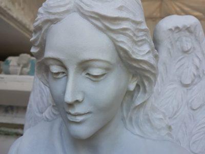 Angel closeup