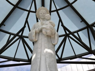 Christ Cathedral Orange CA - Our Lay of Lavang Shrine
